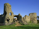 Pevensey Castle Photographic Print by Steve Vidler
