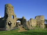 Pevensey Castle Photographic Print by Steven Vidler