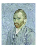 Self-Portrait Giclee Print by Vincent van Gogh