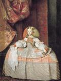 The Infanta Margarita de Austria Fotografie-Druck von Diego Rodriguez de Silva y Velazquez