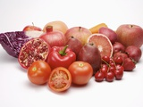 Fresh fruits and vegetables Photographic Print