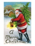 A Merry Christmas Giclee Print