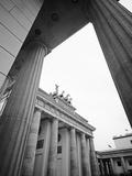 Puerta de Brandenburgo Lámina fotográfica por Murat Taner