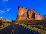 Road through Arches National Park Photographic Print by Blaine Harrington