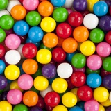 Assorted colors of candy Photographic Print