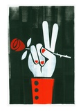 Peace Sign Giclee Print