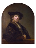Self Portrait at the Age of 34 Giclee Print by  Rembrandt van Rijn