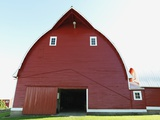 Red Barn Photographic Print by Marnie Burkhart
