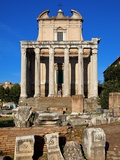 Temple of Antoninus and Faustina Photographic Print by Sylvain Sonnet