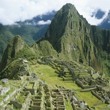 Peru, Machu Picchu Photographic Print by Andreas M. Gross