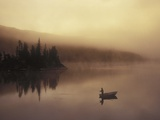 Fishing, Little Charlotte Lake, Chilcotin Region, British Columbia, Canada. Photographic Print by Chris Harris