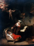 Holy Family by Rembrandt van Rijn Photographic Print