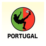 Portugal Soccer Giclee Print