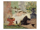 A Modern Olympia Giclee Print by Paul Cézanne