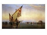Santa Elena, Venice Giclee Print by Edward William Cooke