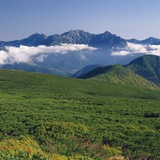 Hotaka mountain range, Nagano Prefecture, Japan Photographic Print