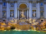 Trevi Fountain Photographic Print by Sylvain Sonnet