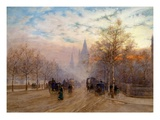 A View of Westminster, London, England Giclee Print by Herbert Menzies Marshall