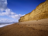 Burton Beach at Burton Bradstock on the Dorset Jurassic Coast Photographic Print by Craig Joiner