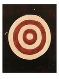 Archery Target, Close-Up Giclee Print