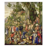 Martyrdom of the Ten Thousand Giclee Print by Albrecht Durer