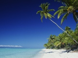 Tetiaroa, Tahiti Photographic Print by Douglas Peebles