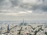Paris skyline with the Eiffel Tower Photographic Print by Raimund Koch