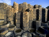 Columnar basalt at Giant's Causeway Photographic Print by Layne Kennedy