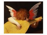 Musical Angel by Rosso Fiorentino Gicléedruk