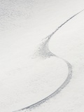 Ski tail in snow Aspen Snowmass, Aspen, Colorado, USA Photographic Print by Shawn O&#39;Connor