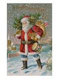 A Bright Christmas Reproduction procédé giclée