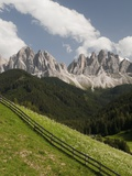 Odle Group in the Italian Dolomites Photographic Print by Sergio Pitamitz