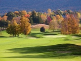 Golf course in Manchester, Vermont Photographic Print by Jean-pierre Lescourret