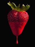 Strawberry Photographic Print by Mike Kemp
