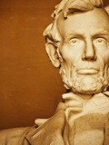 Statue of Abraham Lincoln Photographic Print