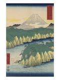 The Lake in Hakone Giclee Print by Ando Hiroshige