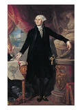 Portrait of George Washington Giclee Print by Jose Perovani