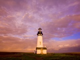 Yaquina Head lighthouse at sunrise Photographic Print by Craig Tuttle