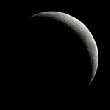 Crescent Moon Photographic Print