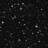 New Galaxies Seen with the Hubble Space Telescope Wide Field Camera Lámina fotográfica