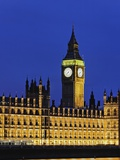 Big Ben Clock Tower and Houses of Parliament Photographic Print by Rudy Sulgan