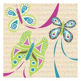 Butterfly Giclee Print by Anne Bryant