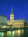 Rathaus, Hamburg Photographic Print by Murat Taner
