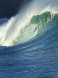 Wave, Waimea, North Shore, Hawaii Photographic Print by Douglas Peebles