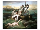 Watson and the Shark Giclee Print by John Singleton Copley