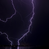 Lightning strike Photographic Print by Stuart Westmorland