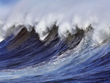 Breaking wave on the North Shore of Oahu Photographic Print by Frank Krahmer