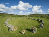 Beaghmore Stone Circle Complex Photographic Print by Kevin Schafer