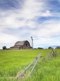 Abandoned Barn, Near Leader, Saskatchewan, Canada Photographic Print by Sam Chrysanthou