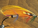 Atlantic Salmon Fly in Flytying Vise, Canada. Photographic Print by Keith Douglas
